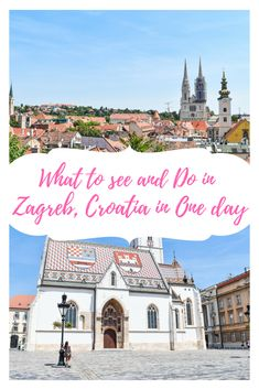 Are you heading to Croatia and flying into Zagreb? Zagreb is a thriving metropolitan city with so much Austrian-Hungarian flare! This is a must see city on your adventure through Croatia and I have listed some of the must see and do things on your one day in this amazing city! #croatia #kroatia #kroatien #kroatie #zagreb #zagrebcroatia #balkans #hrvatska