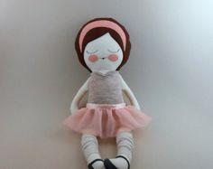 Charlotte 18 cloth doll rag doll customizable by piggyhatespanda