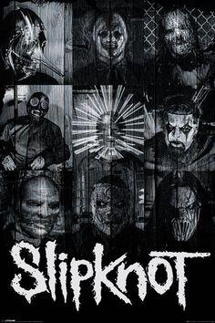 Slipknot - Masks - Official Poster