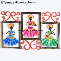 Scholl project idea, childern Craft, wall photo decor, ganpati wall painting, ganpati wall Hanging, ganpati wall picture, wall Hanging, how to make wall hanging, ganpati. wall hanging, Ganpati Wall Decoration, diy, best out of waste, cardboard craft idea, Craft Ideas from waste, punekar sneha,wall Hanging, easy Craft idea, wall decor, wall Decoration Ideas, how to make, punekar Sneha, krishna Craft idea, wall decor Craft Ideas, best out of waste, creative Craft, krisha wall painting, krishna… Creative Crafts, Easy Crafts, Picture Wall, Photo Wall, Wall Decor Crafts, Cardboard Crafts, Krishna, Diy Projects, Craft Ideas