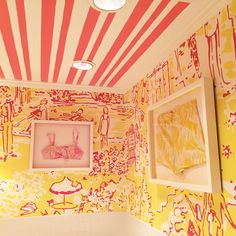 Lilly Pulitzer Bathroom at the Palm Beach Gardens Store