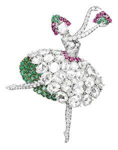 По случаю премьеры балета Джорджа Баланчина «Драгоценности» в Большом театре Van Cleef & Arpels вспоминают свои лучшие украшения, посвященные танцу