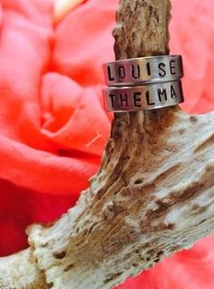 Handmade in Texas Thelma and Louise rings sold as a by JoliJonque, $12.00