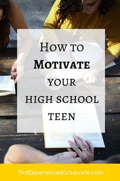 Many parents tell me that their biggest struggle with their teen is:  Lack of motivation  How do I help my child do better in school, if they don't have the motivation to do well?  Here is a 7 step process to motivate your teen to do well in school! high school motivation, high school help, parenting teens tips, parenting teens hacks, motivate teen