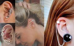 Tendência: Ear Cuff