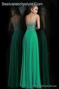 awesome Green Prom Dresses 2015