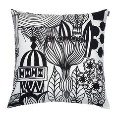 Lintukoto Cushion Cover 50x50cm, White, 201