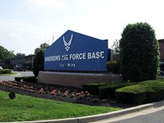 Andrews Air Force Base....lived near here my whole life. My youngest brother and oldest daughter were born here <3