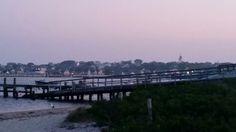 Nantucket Harbor - sunset