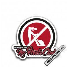 Samolepka No Heels Club Cool Stickers, Cavaliers Logo, Team Logo, Club, Logos, Heels, Heel, Logo, High Heel