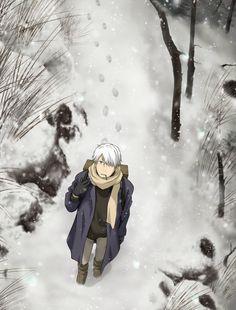 [Mushishi] falling snow
