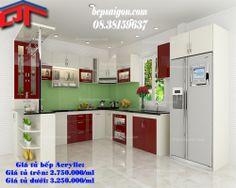 tủ bếp, tu bep, tủ bếp hiện đại, tủ bếp gia đình, tủ bếp acrylic,