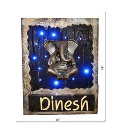 http://www.krafthub.com offers to buy Wooden Name Plate Online @ best price with discounted price in India