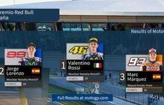 Hasil Lengkap MotoGP Jerez Spanyol 2016 : Amankan Podium, Rossi Hentikan Dominasi Pembalap Tuan Rumah