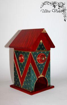 Tea bag cottage, Teabag house, tea box, tea, tea, tea bags