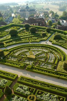 Topiary Garden at Chateau de Hautefort, in Hautefort, Dordogne, France - photo by Chateau de Hautefort, via TripAdvisor