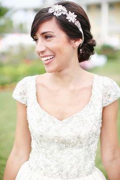 Bridal inspiration: http://www.stylemepretty.com/2015/03/05/preppy-vintage-wedding-inspiration/ | Photography: Kay English - http://www.kayenglishphotography.com/: