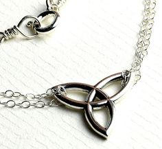 All Sterling Celtic Necklace Celtic jewelry Celtic by Beautiful2u
