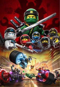 Discover the exciting world of NINJAGO® with detailed LEGO® NINJAGO® playsets. Your child will love battling against evil in ninja adventures. Lego Ninjago Lloyd, Lego Ninjago Movie, Lego Movie, Ninjago Party, Lego Birthday Party, Legos, Lego Poster, Lego Hacks, Lego Wallpaper