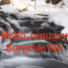 Surprise Me January Hello January Quotes, Hello October, Cover Pics For Facebook, Facebook Image, Cherry Blossom Tree, Blossom Trees, January Images, January Month, Summer Wedding Outfits