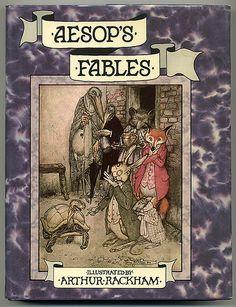 Arthur Rackham - Aesop's Fables - Cover