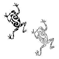 Tatuaggio di Rana, Guarigione, trasformazione tattoo - custom tattoo designs on TattooTribes.com