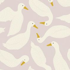 Duck Illustration, Pattern Illustration, Duck Wallpaper, Pet Ducks, New Project Ideas, Nature Sketch, Graphic Design Trends, Bird Patterns, Illustrations And Posters