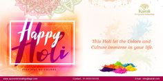 Ayurvedic Healing, Happy Holi, Wellness, Neon Signs, Culture, Color, Colour, Colors