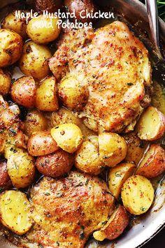 Maple-Mustard-Chicken-Recipe.jpg (640×960)