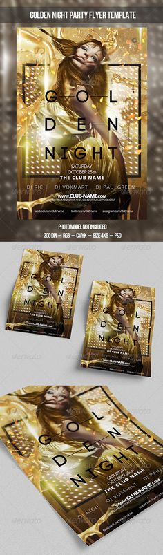 Golden Night Flyer Template PSD | Buy and Download: http://graphicriver.net/item/golden-night-flyer-template/8689137?WT.ac=category_thumb&WT.z_author=hellopasha&ref=ksioks