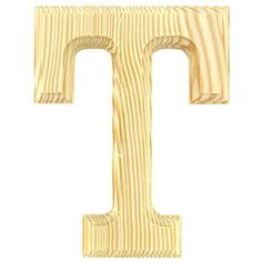 6 1 4 Routed Wooden Letter T Hobby Lobby