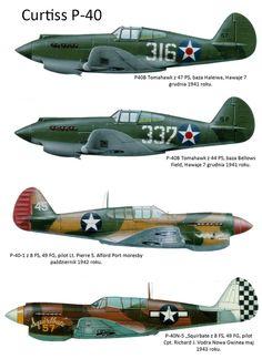 USA Curtis P-40