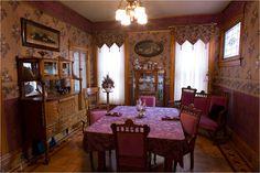Victorian dining room in colorado