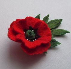 Image result for felt poppy pattern