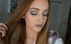 Blue & Gray | Cool Tones Makeup Look | Kat Von D Shade + Light Palettes!