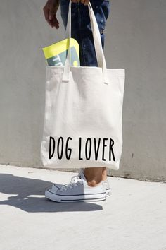 Hey, I found this really awesome Etsy listing at https://www.etsy.com/listing/178409689/dog-lover-gift-custom-tote-bag-canvas