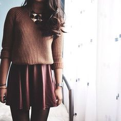 This is a perfect winter outfit. This outfit has the perfect winter color. I love fashion!