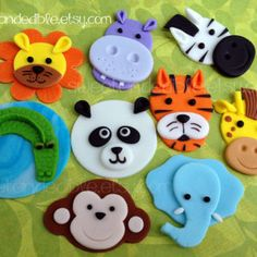 Sweet and Edible - Quality Cupcake Toppers for your special event. Safari Cupcakes, Fondant Cupcakes, Animal Cupcakes, Pink Cupcakes, Valentine Cupcakes, Superhero Cupcake Toppers, Fondant Cupcake Toppers, Zebra Cookies, Cupcake Cookies