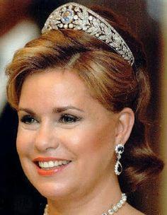 Tiara Mania: Sapphire & Diamond Tiara worn by Grand Duchess Maria Teresa of Luxembourg
