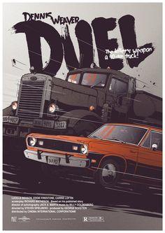 Movie Poster: Duel by Krzysztof Nowak