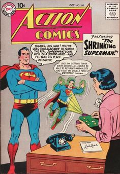 Shrinking Superman