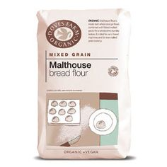 Makes a gorgeous loaf - follow the recipe on the packet! Doves Farm Organic Malthouse Bread Flour 1kg