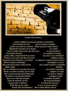 La peor de las penas... -Dueto con Antonio Escobar y arte de Safira. ¡¡Gracias, amigos queridos!!-. - Parnassus, patria de artistas
