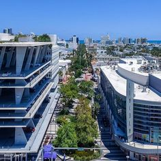 """The Lincoln Road Mall """"Fifth Avenue of the South."""" @4martymcfly #lincolnroad #miamibeach"""
