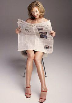 Allison Janney as Rich Yoga Fetish Lady.