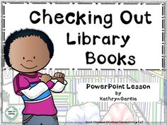 This powerpoint lesson is designed to teach little patrons how to be independent at the circulation computers so that the librarian is free to help others find that 'just right' book. $