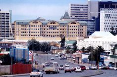 windhoek | windhoek imagem Paises Da Africa, National Geographic, Times Square, 1, Street View, African, City, Travel, Landscapes
