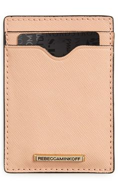 Rebecca Minkoff Saffiano Leather Commuter Pass Case available at #Nordstrom