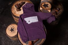 Headframe Montana Purple Hoodie - Headframe Spirits
