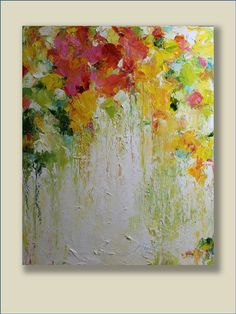 Reserved for Eve-Original Oil Painting-Spring por MGOriginalArt